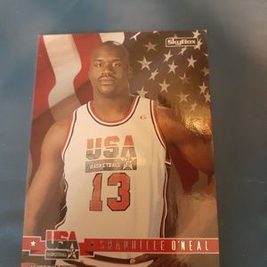 1994 Shaquille o'neal  Skybox card 67
